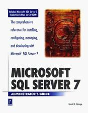 Microsoft SQL Server 7 Administrator's Guide by Ron Talmage (1999, Hardcover)