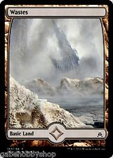 WASTES #183 FULL ART BASIC LAND Oath of the Gatewatch Magic MTG (GH)