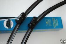 "26""/22"" 2x Flat Windscreen Wiper Blades Specific for model Fiat Ducato 2006 +"