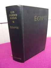 GUIDE BLEU / EGYPTE ÉGYPTE le Nil Égyptien et Soudanais du Delta a Khartoum