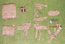 DRAGON IN DREAMS 1/6 WW I BRITISH TOMMY ALBERT BROWN Webbing Pouches E-tool ETC