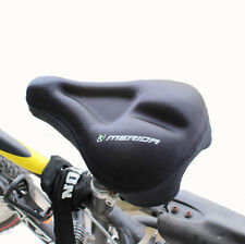 New Unisex Cycling Bicycle Soft Silicone Pad Bike Saddle Silica Gel Seat Cover
