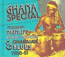 Ghana Special: Modern Highlife, Afro-Sounds and Ghanaian Blue 1968-19 Ex-library