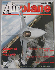 Airplane Issue 104 Grumman OV-1 Mohawk cutaway, Tupolev Tu-134  'Crusty'