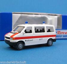 Roco H0 2411 VW T4 Bus Polizei Zürich Schweiz Bulli OVP HO 1:87 Volkswagen