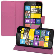 Case Cover Wallet Silicone PU Effect Fabric Nokia Lumia 1320/ RM-994