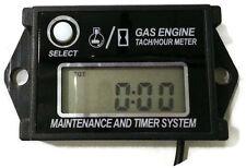 Digital Tachometer Hour Meter Job timer Reset-able Lawnmower generator etc