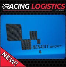 Édition Limitée FIBRE DE CARBONE Autocollant RENAULT SPORT RS Stickers Racing