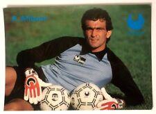 Cartolina Pubblicitaria Uhlsport Guanti Calcio-Roberto Alibioni Portiere Brescia