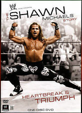 SALE DVD WWE: The Shawn Michaels Story: Heartbreak and Triumph NEW
