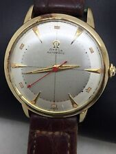 14kt Gold Filled Omega Men's Bumper Watch