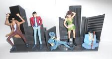Lupin 3rd Figures Diorama 5pz Zenigata Goemon Jigen Fujiko Hobby Work