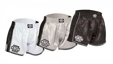Evolution Box Muay thai short. Kwon. Muay thai. k1. xs-xl. Noir/Blanc/Argent