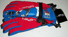 Ed Hardy Snow Gloves Ski Board Boogie Sled winter France French Flag Xmas XL new