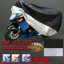 XL Waterproof Outdoor UV Protector Motorbike Rain Dust Bike Motorcycle Cover