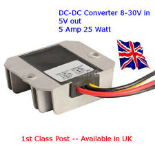 Power Supply DC-DC Converter 12V/24V Down to 5V 5A - 25W ARDUINO - RASPBERRY pi
