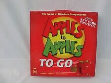 Apples to Apples To Go Game - New Card Content - 100% Complete - MINT