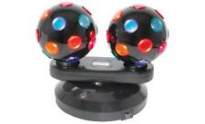 QTX 153.150 Dual Rotating Disco Balls Ideal For Lighting Up Parties at Home