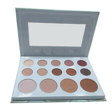 Newest 14 Colors BH Cosmetics Carli Bybel Makeup Eye Shadow Palette Glitter Matt