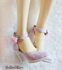 1/3 bjd SD13/16 EID girl doll lace high-heel shoes dollfie dream S-101 ship US