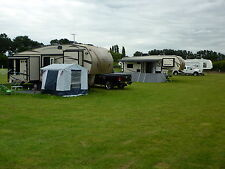 HOLIDAY in a 5th Wheel American Motorhome RV Try Before You Buy, CAMPING HOLIDAY