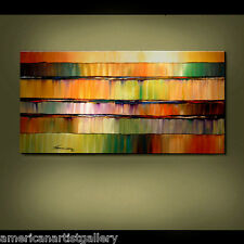 LARGE ORIGINAL Painting 24x48 Impasto Modern Abstract Wall Art by Thomas John