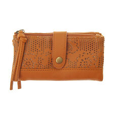 Claire's Girls and Womens Tan Folding Purse in Tan