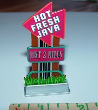 1/64TH JAVA / COFFEE HOUSE ROAD SIGN DIORAMA PROP!!