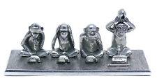 Jac Zagoory Designs 4 Monkey Write No Evil Pen Holder, New in Gift Box
