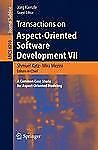 Transactions on Aspect-Oriented Software Development VII: A Common Case Study fo