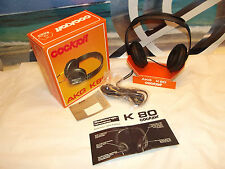 Vintage and Original AKG K 80 Stereo Headphone AKG K80 Headphones