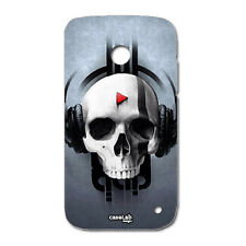 CUSTODIA COVER CASE TESCHIO MUSICA SKULL MUSIC PER NOKIA LUMIA 630