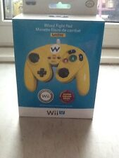 ORIGINAL NINTENDO WII U NES MINI WARIO EDITION CONTROLLER SMASH BROS PDP WIRED