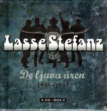 5 CD BOX laisse stefanz, de Ljuva åren 1194-1999, la suède suédois