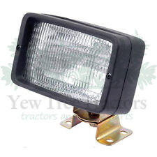 Rectangular Work Lamp Light Tractor Landrover Jcb dumper 12V