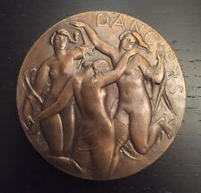 Dancers and Bathers Society of Medalists Bronze Medal
