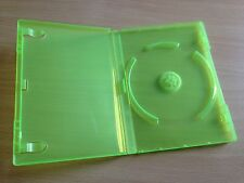 Microsoft Official Xbox 360 Brand New Green Empty Replacement Game Cases x 10