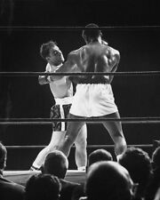 1954 Boxers ROCKY MARCIANO vs EZZARD CHARLES 8x10 Photo Boxing Heavyweight Match