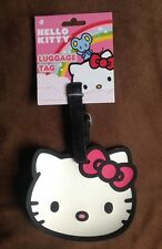 HELLO KITTY LUGGAGE TAG IDENTIFICATION SUITCASE BRIEFCASE BACKPACK SATCHEL