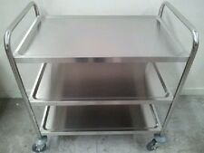 Brand New 3-Tier Stainless Steel Trolley