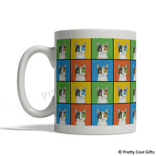 Japanese Bobtail Cat Mug - Cartoon Pop-Art Coffee Tea Cup 11oz Ceramic