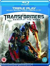 Transformers - Dark Of The Moon (Blu-ray and DVD Combo, 2011, 2-Disc Set)