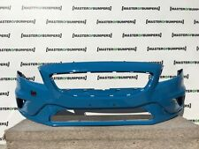 VOLVO V40 T5 R DESIGN 2015-2016 FRONT BUMPER IN BLUE GENUINE [N47]
