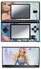 SKIN STICKER AUTOCOLLANT DECO POUR NINTENDO DS LITE REF 24 BARBIE B