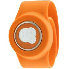 $110 Easy Slap On Fashion Cloud 9 Digital  Watch (orange)Battery not included