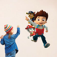 PAW Patrol Dog Children's Room Scroll Character Wall Stickers Familly Home Decor