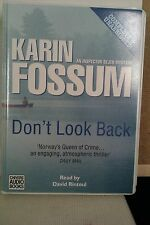 Don't Look Back by Karin Fossum: Unabridged Cassette Audiobook (BB2)