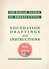 Haslam System of Dresscutting - Measurement Charts & Foundation