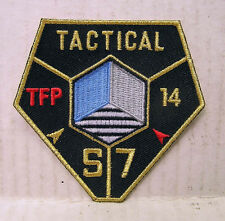 "Transformers Movie SECTOR 7 TACTICAL Logo 3.5"" Uniform Patch (TRPA-15)"