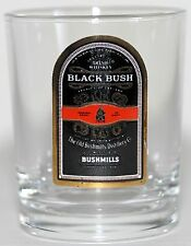 "Shot Glass Black Bush Bushmills - 2"" High"